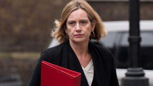Amber Rudd Lets the Con Slip